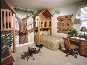 秘密基地のある子供部屋