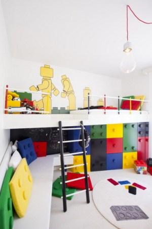 レゴ大好きっ子の子供部屋