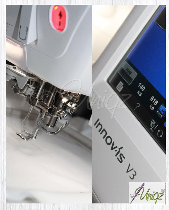 Neu im Uniqz®-Maschinenpark Brother InnovIs V3 (Nr. 2)