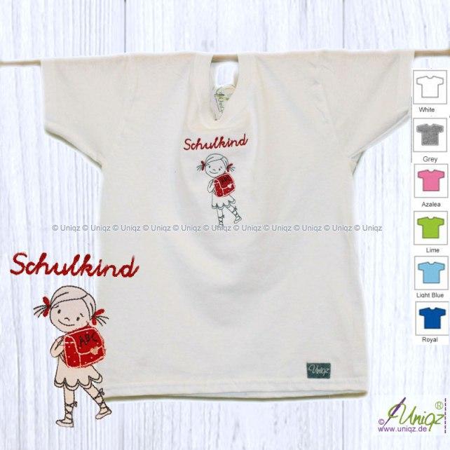 Mädchen-T-Shirt zur Einschulung