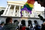 Supreme Court and Rainbow Flag