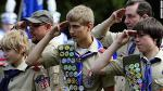 boy scouts and adult leaders