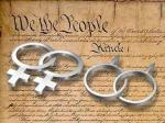 same sex marriage vs. constitution