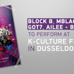 Block B, MBLAQ, VIXX, GOT7, Ailee & BTOB to perform at 'K-Culture Festival' in Germany