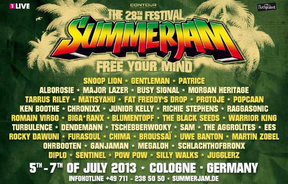 Summerjam 2013
