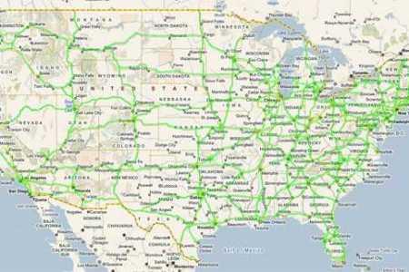 united states temperature   cellular coverage   road