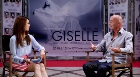 Arirang TV 「The Innerview」, バレエ「ジゼル」のストーリーテラー、グレアム・マーフィーに会う