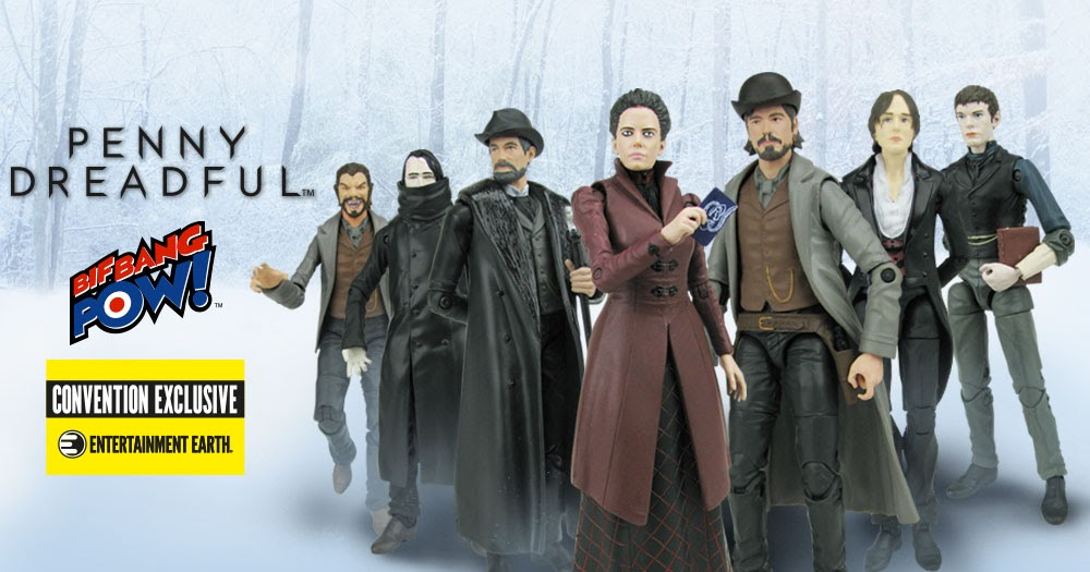 "Win Bif Bang Pow's ""Penny Dreadful"" action figures & S1 DVD!"