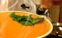 Soup Served at the Blue Line Café in the Tanner Building (Photo courtesy of BYU Dining Services)
