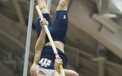 Victor Weirich hopes to place high in the pole vault at the NCAA Championships