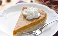 Pumpkin pie can be an easy fall treat that all students can enjoy. (Associated Press)