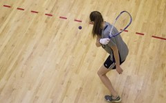 BYU Racquetball player Sarah Wynn in action Nov. 21. (Samantha Williams)
