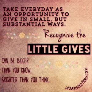 little gives