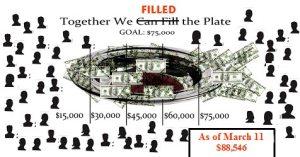 Pledge Plate