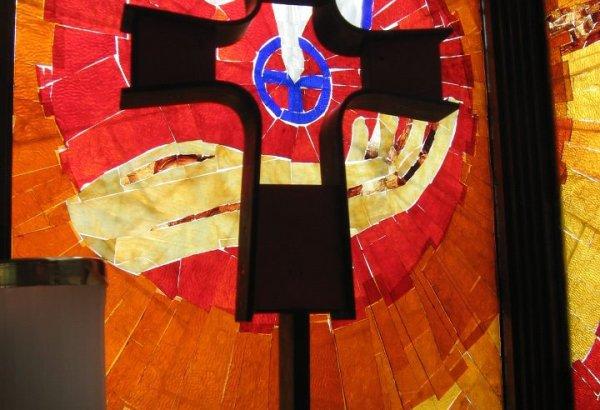 University Lutheran Cross