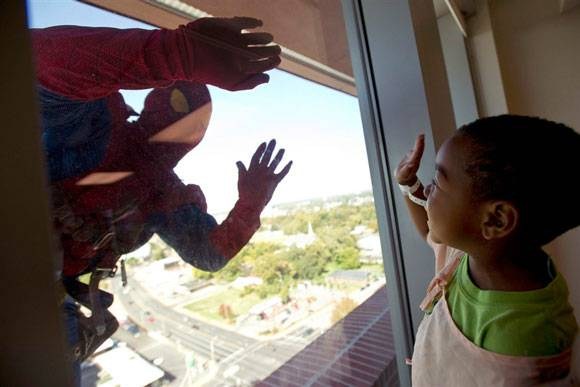 spiderman e bimbo