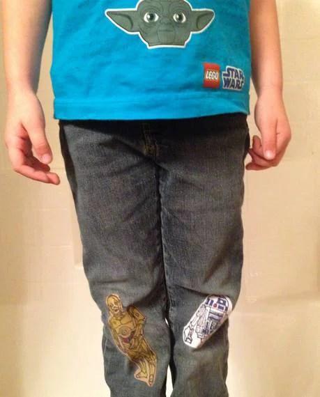 toppe per pantaloni guerre stellari