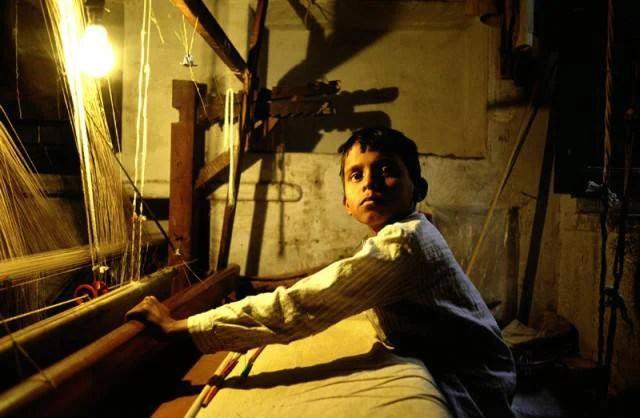 bambino schiavo