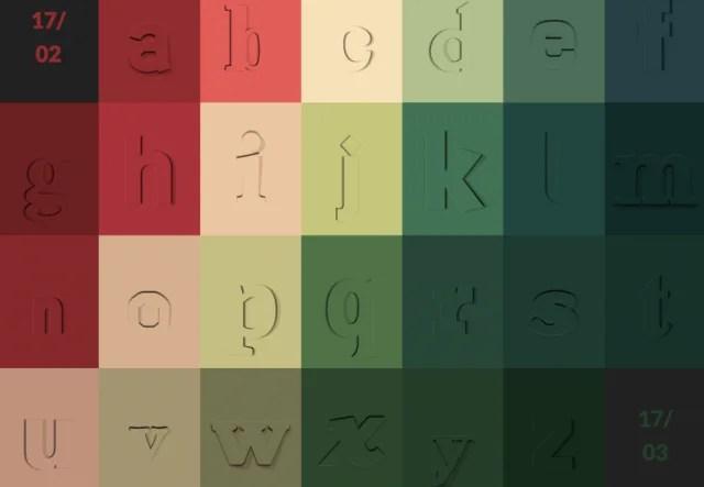 alfabeto di sofia