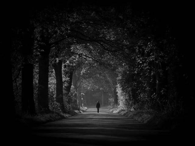 camminare nel tunne