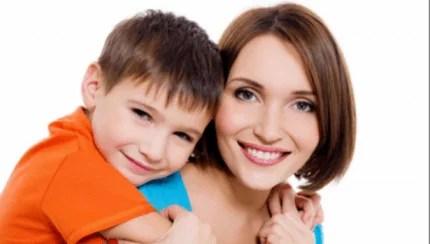 madre e figlio