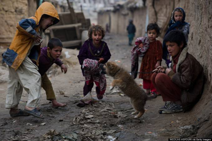 bambini afgani