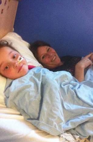 bimba in ospedale
