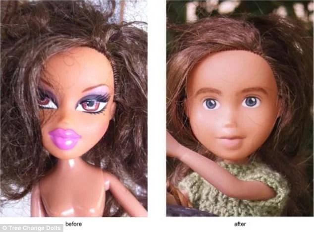 bambole prima e dopo