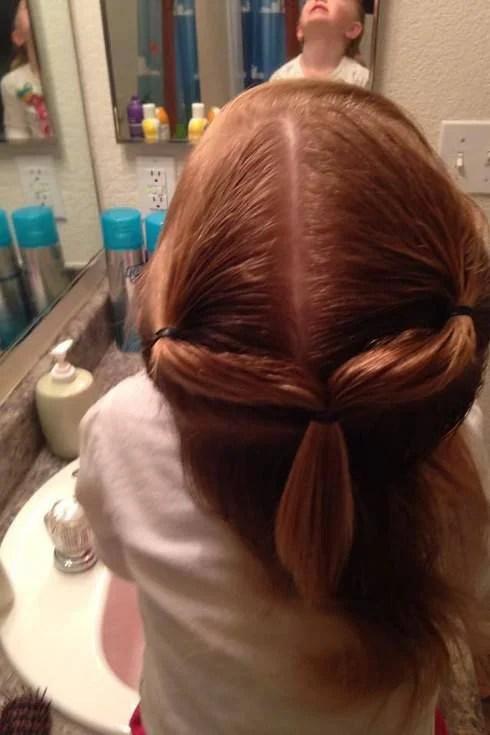 hairstyle bimba coda legata