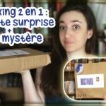 [Unboxing #1] 2 en 1 : Pochette Surprise Médiathèque et Colis Mystère