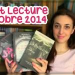 Point Lecture : Octobre 2014