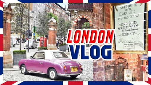London vlog cover