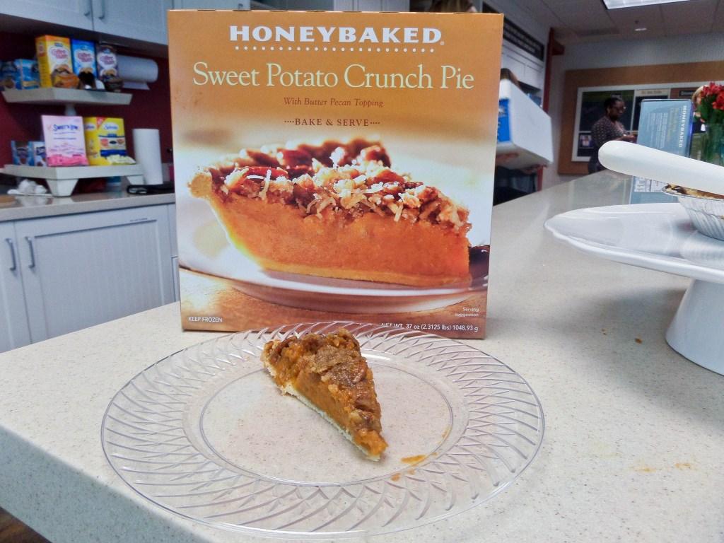 Honey Baked Ham Sweet Potato Pie