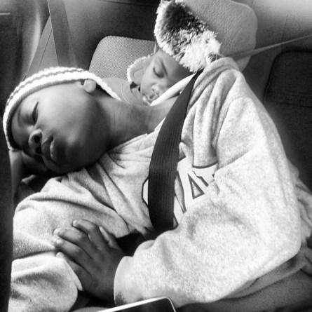 sleepy babies