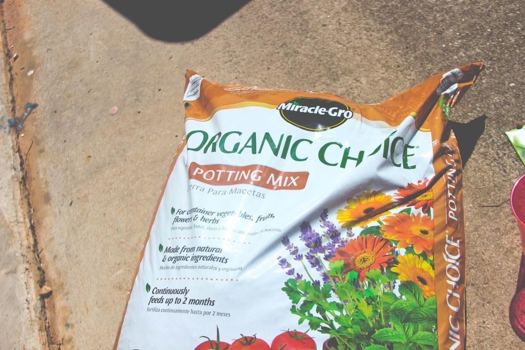 Miracle Gro Organic Choice Potting Mix