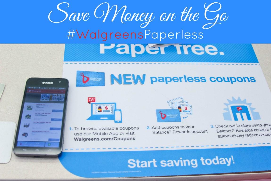 #WalgreensPaperless #shop