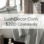 $200 LushDecor.com GC Giveaway