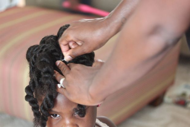 Natural Hair Kids Style
