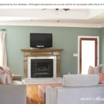 Ace Hardware 31 Days of Color | Living Room Makeover