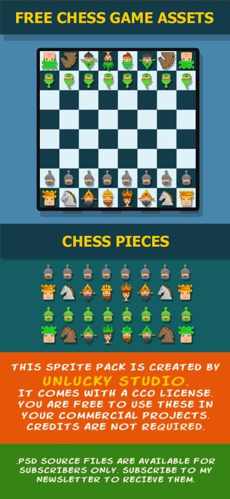 Free_chess Sprites