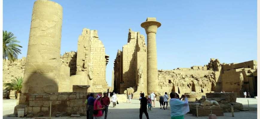 Templo de Karnak entrada