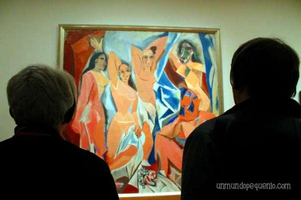 Les demoiselles d'Avignon - Pablo Picasso