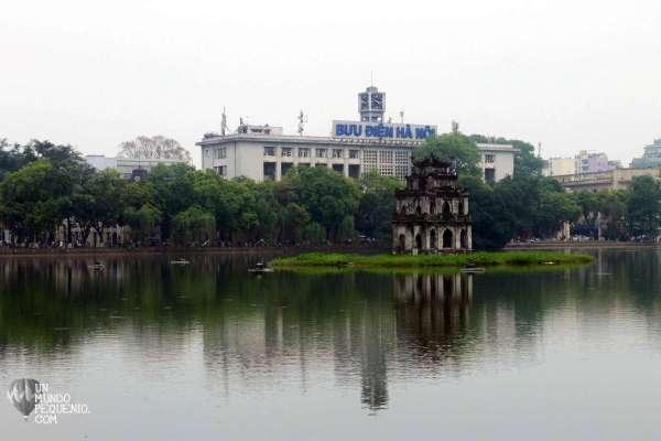 Hoan Kiem lake Hanoi
