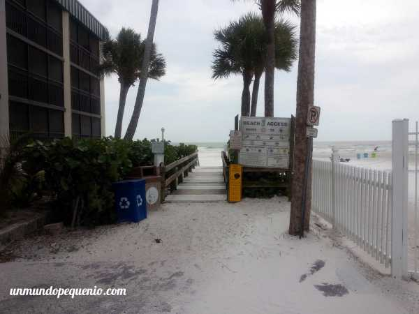 Acceso a Fort Myers beach