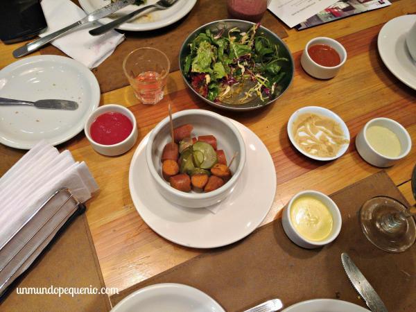 Salchichitas veggies
