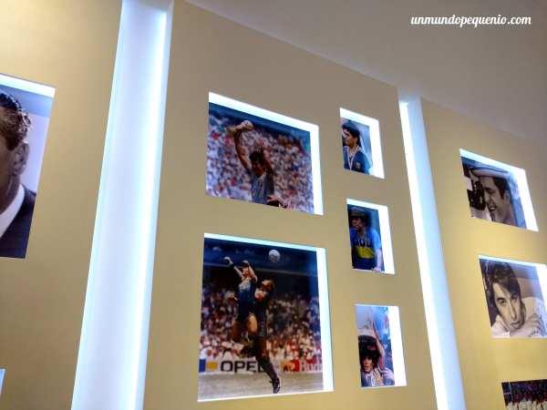 Maradona en la Galería de Ídolos Populares