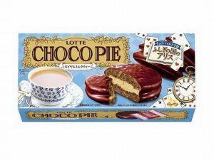 チョコパイ大人アリス答えロッテロイヤルミルクティーカロリー味感想期間いつまで