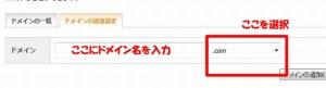 お名前.comエックスサーバードメイン使用方法やり方