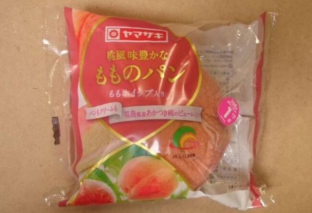 ヤマザキ「桃風味豊かなもものパン」カロリー・感想は?牛乳に浸けるとモチモチ!
