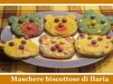 maschere biscottose orsetti